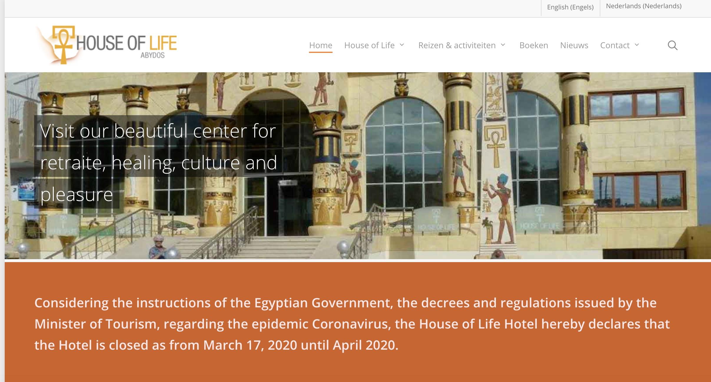 Website hersteld en geupdated
