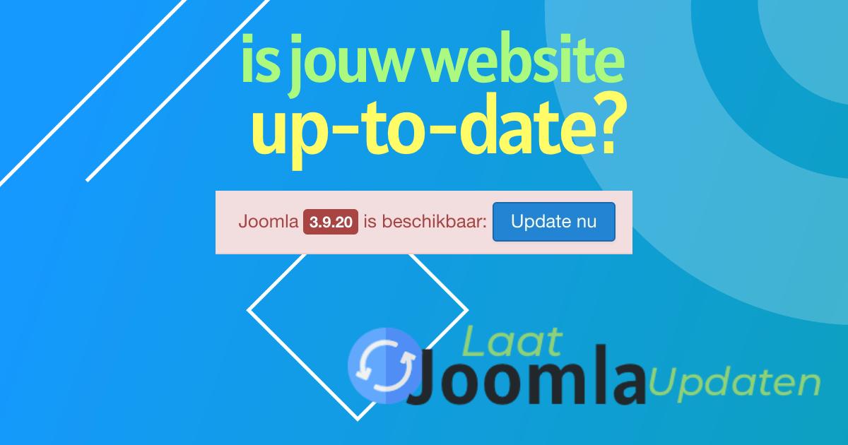 Joomla 3.9.20 is uitgegeven