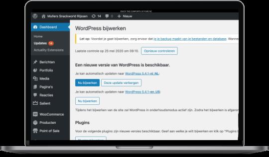 Waarom je WordPress moet updaten